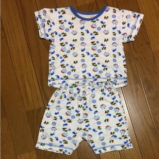 ニシマツヤ(西松屋)の西松屋 半袖 パジャマ 80cm(パジャマ)