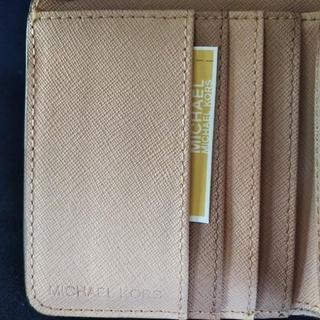 マイケルコース(Michael Kors)のMICHAEL KORS 3つ折り 値下げ相談可(折り財布)