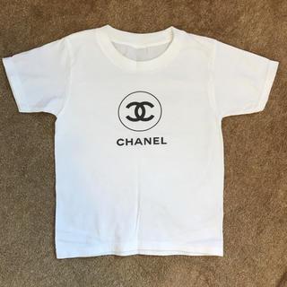 シャネル(CHANEL)のシャネル ノベルティロゴTシャツ(Tシャツ/カットソー)