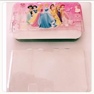 ディズニー(Disney)のNewニンテンドー3DS LL ディズニープリンセスハードカバー(携帯用ゲーム本体)