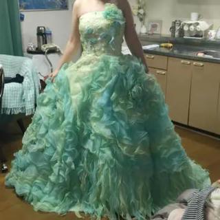 カラードレス グリーン シュガーケイ (ウェディングドレス)