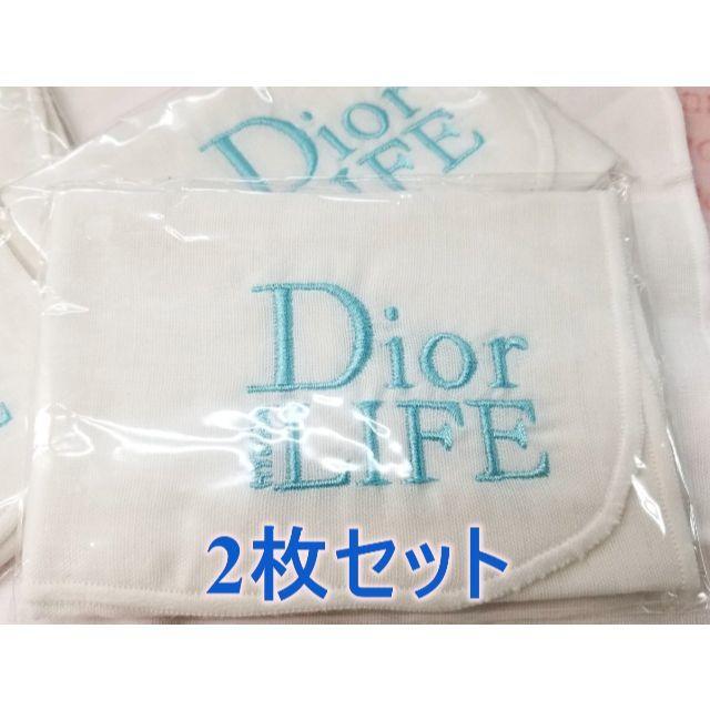 Dior(ディオール)のディオール クレンジング ワイプ コットン100% ガーゼ 2枚セット コスメ/美容のコスメ/美容 その他(その他)の商品写真