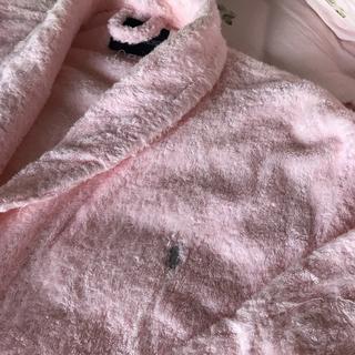 ラルフローレン(Ralph Lauren)のラルフローレン☆バスローブMサイズ☆ピンク(タオル/バス用品)