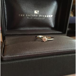 ティファニー(Tiffany & Co.)のラザールダイヤモンド  リング プラチナ850 美品(リング(指輪))