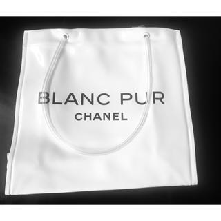 シャネル(CHANEL)のシャネル/BLANC PUR/ビニールポーチ/ノベルティ(ノベルティグッズ)