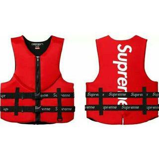 シュプリーム(Supreme)の【新品M】Supreme O'Brien Life Vest ライフジャケット(ベスト)