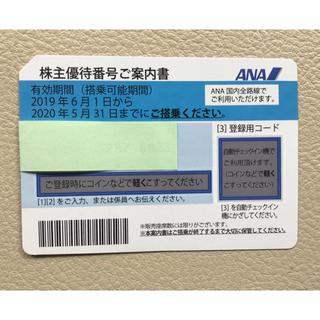 ANA(全日本空輸) - ANA株主優待券 来年5月まで有効