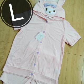 マイメロディ - マイメロ パジャマ ルームウェア レディースLサイズ なりきり 着ぐるみパジャマ