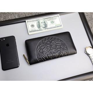 VERSACE - versace財布 長財布 男女兼用 ラウンドファスナー