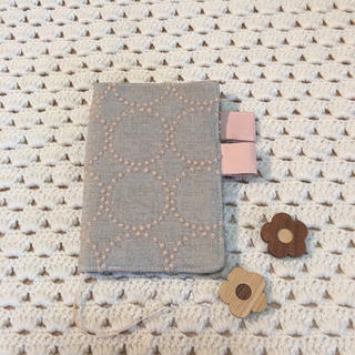 ミナペルホネン(mina perhonen)のほぼ日手帳カバー ミナペルホネン  tambourine ベージュ(ブックカバー)