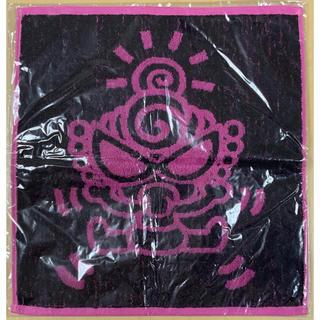 ヒステリックミニ(HYSTERIC MINI)のヒスミニ☆正規品☆新品☆ハンドタオル☆黒/ピンク☆graffiti mini(タオル/バス用品)