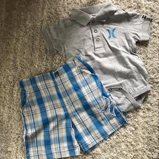 ハーレー(Hurley)のhurley ポロシャツ パンツセット 75 2ピース(Tシャツ)