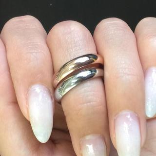 チタンステンレスツヤあり!シンプル 4㎜幅 リング 指輪 メンズ レディース (リング(指輪))