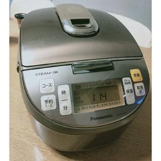 パナソニック(Panasonic)のPanasonic スチーム IH ジャー炊飯器 2012年製SR-SY102J(炊飯器)