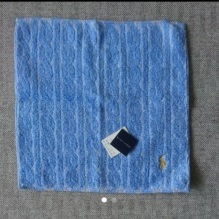 ラルフローレン(Ralph Lauren)の新品タグ付き☆ラルフローレン  タオルハンカチ(ハンカチ/ポケットチーフ)