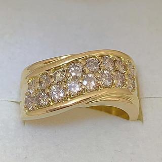 ジュエリーマキ(ジュエリーマキ)のk18  ブラウンダイヤモンド リング(リング(指輪))