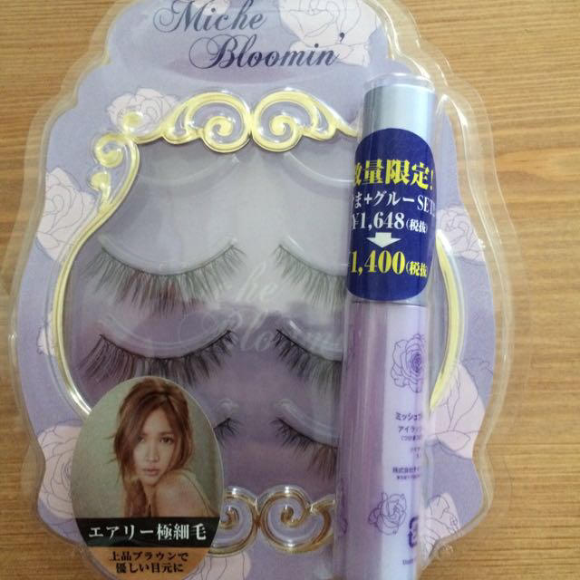 紗栄子 つけまとノリセット コスメ/美容のベースメイク/化粧品(つけまつげ)の商品写真