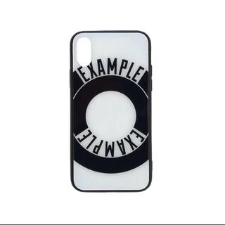 シュプリーム(Supreme)のEXAMPLE ROUND LOGO iPhoneX XS CASE(iPhoneケース)