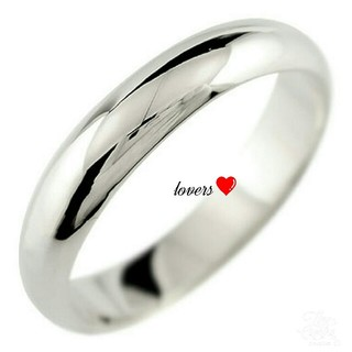 送料無料 7号 シルバー サージカルステンレス シンプル甲丸リング 指輪(リング(指輪))