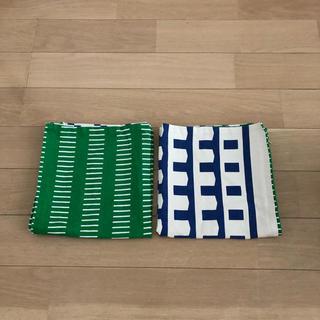 イケア(IKEA)のIKEA クッションカバー 2枚セット(クッションカバー)