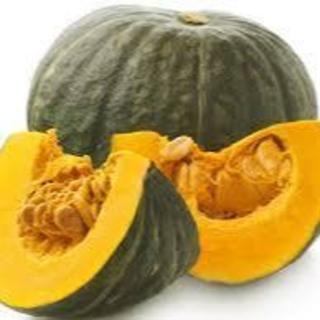 大山山麓無農薬無化学肥料栽培かぼちゃ4玉【送料込】(野菜)