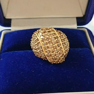 K18 2ct ダイヤモンド リング(リング(指輪))