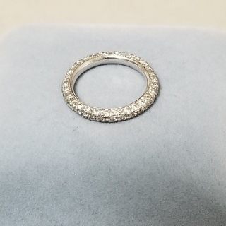yuupink☆様専用ダイヤモンドフルエタニティピンキーリング(リング(指輪))
