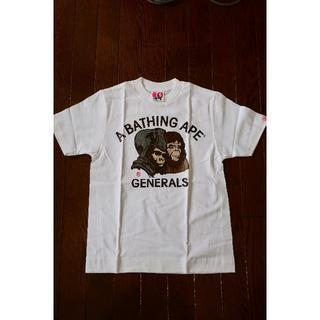 アベイシングエイプ(A BATHING APE)のBAPE エイプ レディース Tシャツ(ジェネラル)(Tシャツ(半袖/袖なし))