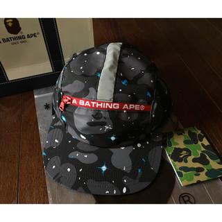 アベイシングエイプ(A BATHING APE)のBAPE SPACE CAMO CAP(キャップ)