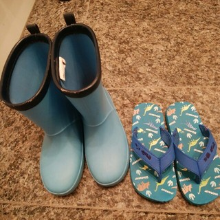 ニシマツヤ(西松屋)の西松屋 長靴 ビーチサンダル 19 19.5 20(長靴/レインシューズ)