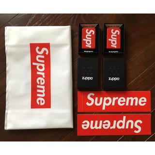 シュプリーム(Supreme)のSUPREME ZIPPO 2個 セット(タバコグッズ)