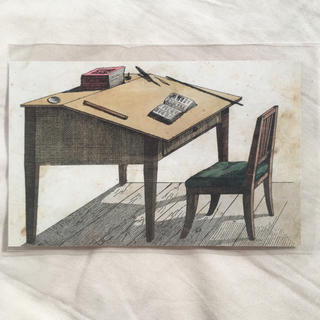 H.P.FRANCE - John Derian ジョンデリアン ポストカード  desk 机