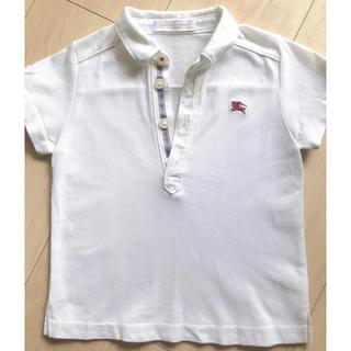 バーバリー(BURBERRY)の✴︎ Burberry バーバリー 半袖 ポロシャツ 80 ✴︎(シャツ/カットソー)