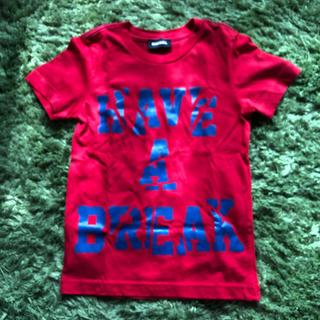ディーゼル(DIESEL)のDiesel 赤 Tシャツ 110(Tシャツ/カットソー)
