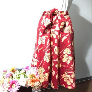 リズリサ(LIZ LISA)の【LIZ LISA】花柄 ミディ丈 フレアスカート(ロングスカート)