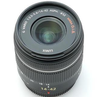 パナソニック(Panasonic)のパナソニック14-42ブラック(レンズ(ズーム))