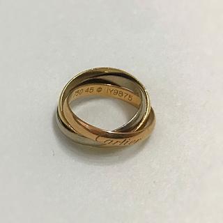 カルティエ(Cartier)の値下げ★Cartierカルティエ美品トリニティリング3連 5号45 セール(リング(指輪))
