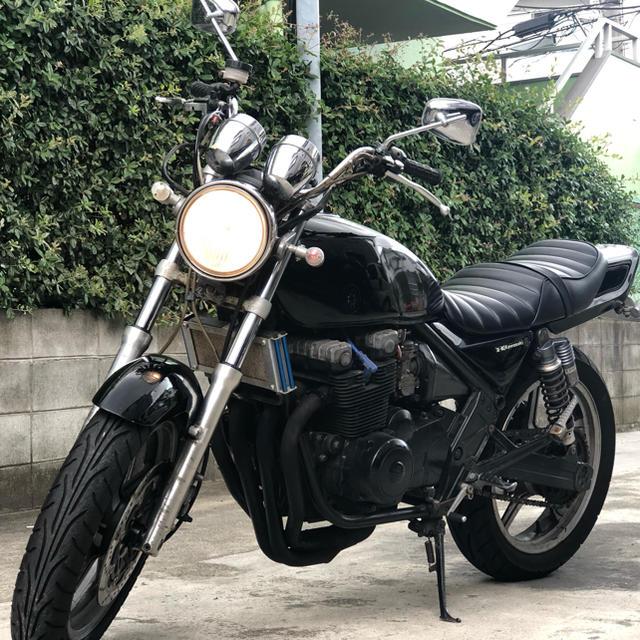 カワサキ(カワサキ)のKAWASAKI カワサキ ゼファー400 エンジン一発始動  自動車/バイクのバイク(車体)の商品写真