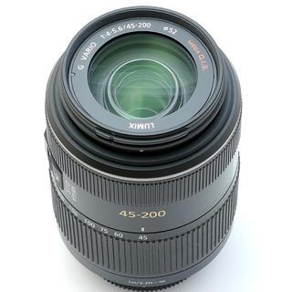 パナソニック(Panasonic)のパナソニック45-200グレー(レンズ(ズーム))