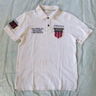 バックナンバー(BACK NUMBER)の最終値下げ:バックナンバー ベージュ ポロシャツ【中古】(ポロシャツ)