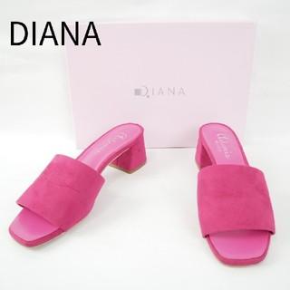 ダイアナ(DIANA)のDIANA  ダイアナ Mサイズ スウェード ピンク サンダル(サンダル)
