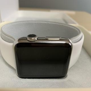 アップルウォッチ(Apple Watch)の初代 Apple Watch 42mm ステンレス シルバー(腕時計(デジタル))