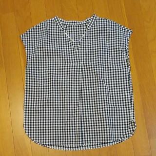ジーユー(GU)の未使用⭐GU チェックシャツ(シャツ/ブラウス(半袖/袖なし))