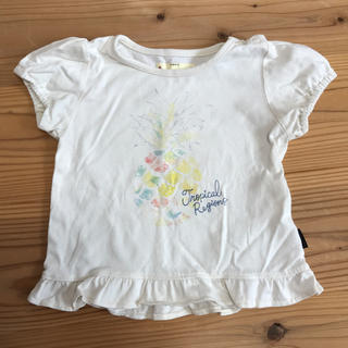 ベルメゾン(ベルメゾン)のパイナップル Tシャツ 90cm(Tシャツ/カットソー)