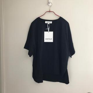エンフォルド(ENFOLD)の新品未使用タグ付き エンフォルド(Tシャツ(半袖/袖なし))