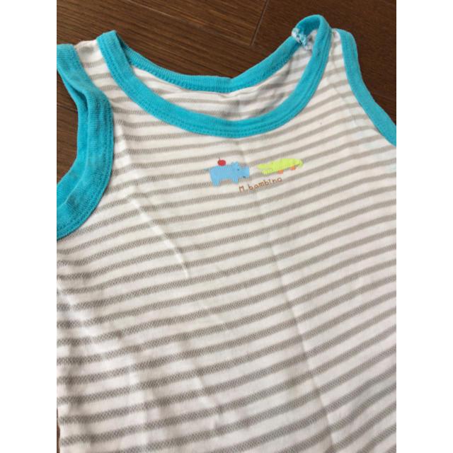 西松屋(ニシマツヤ)の【西松屋】肌着セット売り キッズ/ベビー/マタニティのベビー服(~85cm)(肌着/下着)の商品写真