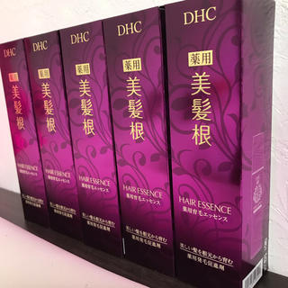 ディーエイチシー(DHC)のDHC 美髪根 新品5本セット(ヘアケア)