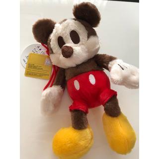 ディズニー(Disney)のミッキー がま口ミニバッグ(キャラクターグッズ)
