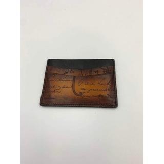 ベルルッティ(Berluti)のBerluti ベルルッティ BAMBOU カードケース パスケース (名刺入れ/定期入れ)