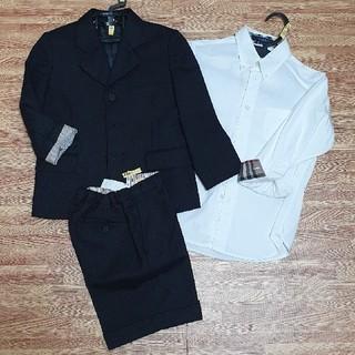 バーバリー(BURBERRY)のBURBERRY スーツ 男の子 110 120(ドレス/フォーマル)
